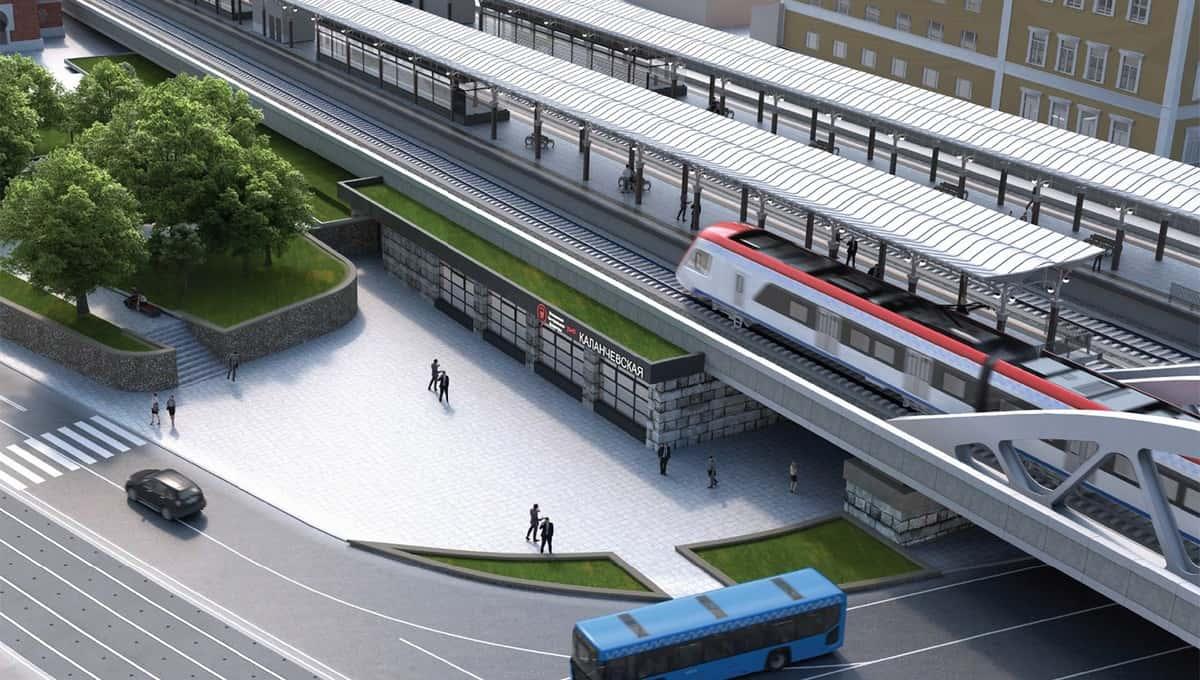 Рядом с тремя вокзалами появится четвертый: им станет станция МЦД «Каланчёвская»