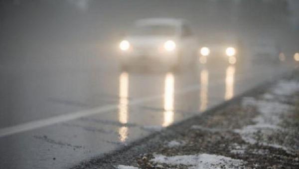 Туман может угрожать автомобилистам