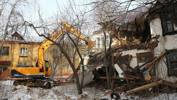 Дом, где рухнула стена, решено снести