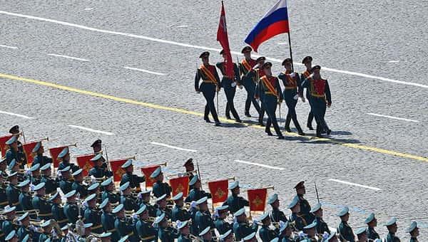 Иностранцев не будут приглашать на парад Победы