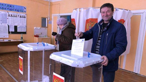 Николай Симаров победил на выборах в Васильевском