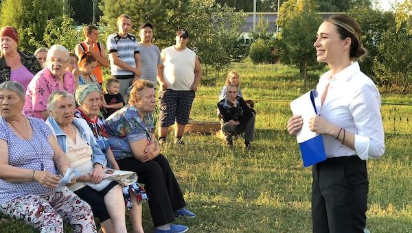 В Васильевском хотят сохранения района.