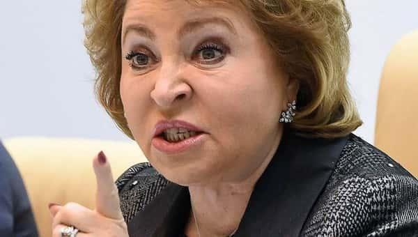 Матвиенко назвала самый «вредительский» закон