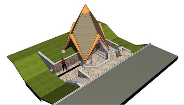 В Оболенске появилась пирамида