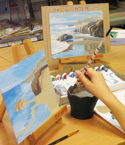 Авторский курс темперной живописи