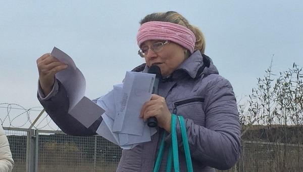 Жительница города Серпухова объявила бессрочную голодовку, требуя закрыть полигон ТБО