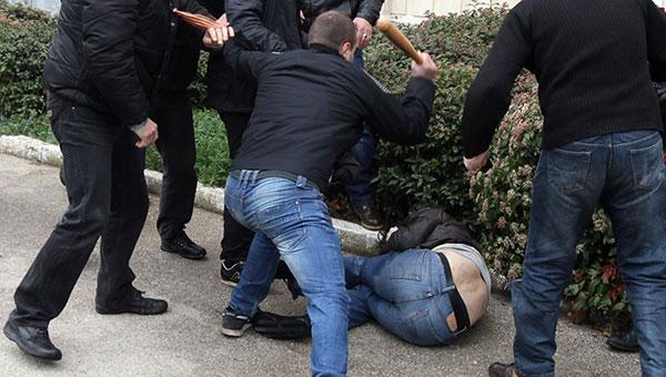 В Серпухове мужчину ограбили и жестоко избили