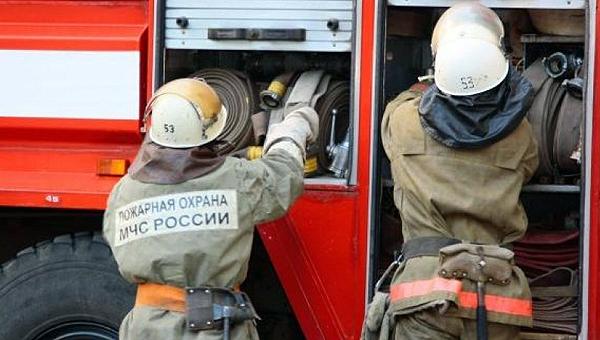 В Серпухове загорелся дом Кирницкого