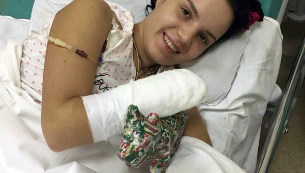 Маргарита Грачева пошевелила пальцем пришитой кисти