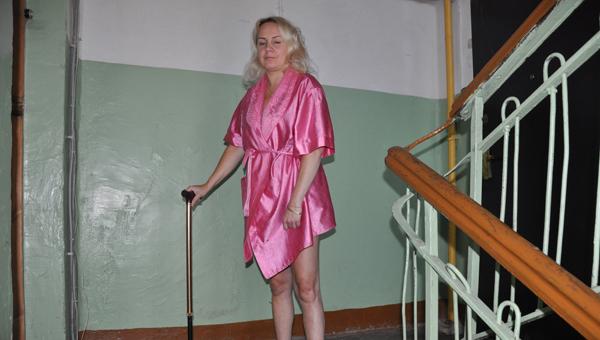 Она пережила инсульт, чтобы ходить и мучиться?