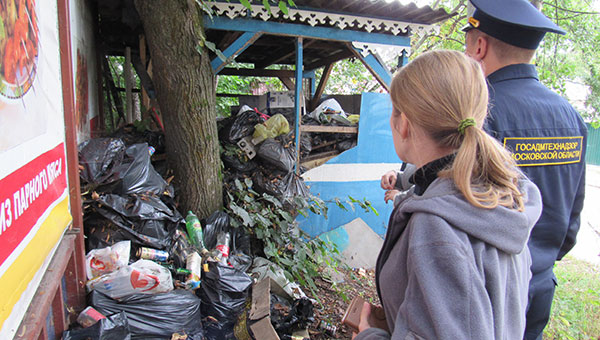 В Пущино продолжают борьбу за чистоту