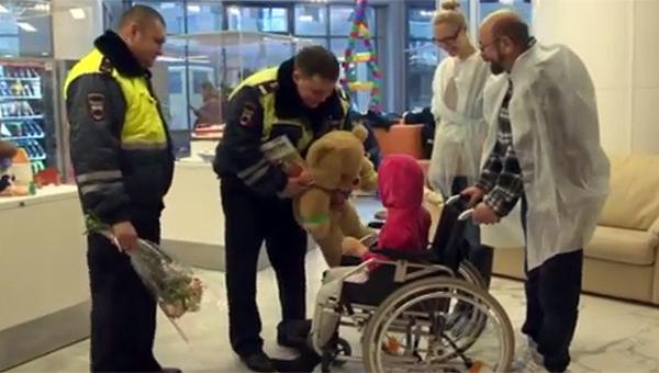 Полицейские вОдинцовском районе помогли доставить покусанного собакой ребенка в поликлинику