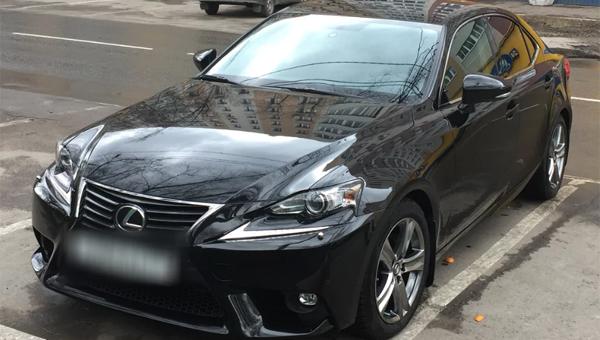 В Серпухове угнали автомобиль