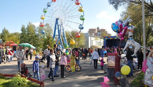 В Питомнике День города праздновала детвора