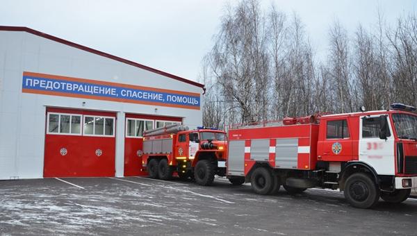 В Ивановских двориках в Серпухове появится своя пожарная часть