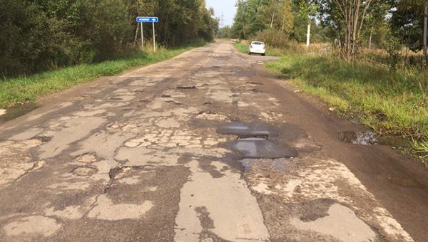 Мясоедов «зарубил» дорогу «Калиново - Калугино»