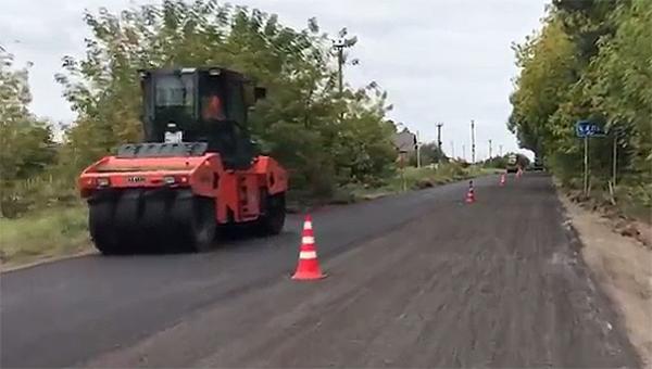 Дорогу Калиново-Калугино начали ремонтировать