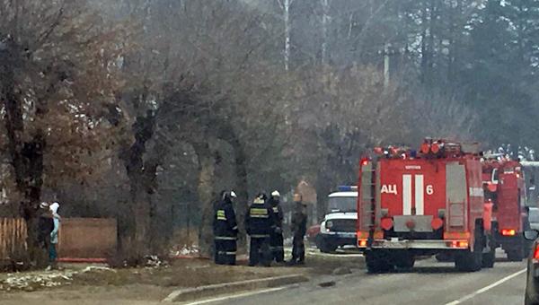 Бурные выходные серпуховских пожарных