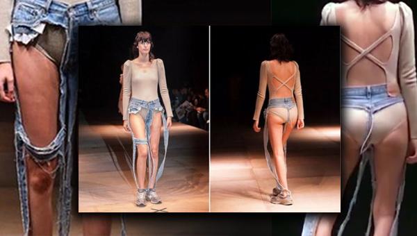 Стринги под джинсами — photo 4