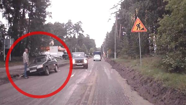 В Протвино ремонт дорог крайне опасен для водителей и велосипедистов