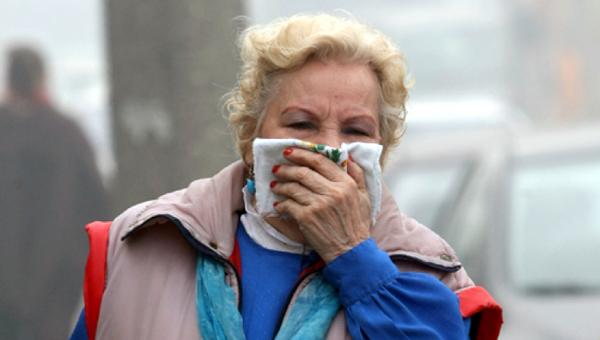 Жители Серпухова и района снова жалуются на жуткую вонь с горящей свалки
