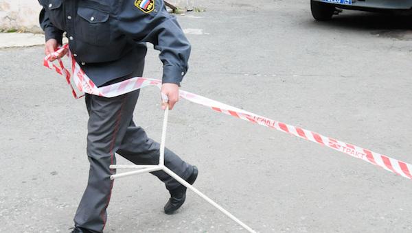 Из-за подозрительного ящика оцепили обочину у деревни Лукино