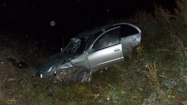 При повороте на Курилово погиб автомобилист