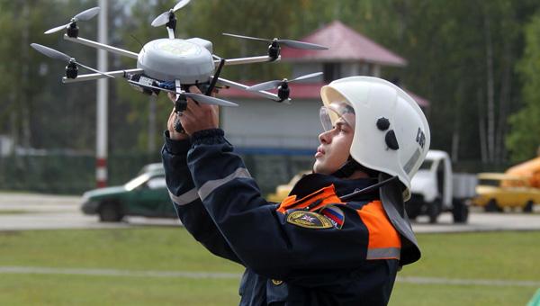 У спасателей Подмосковья на вооружении появились дроны с тепловизорами