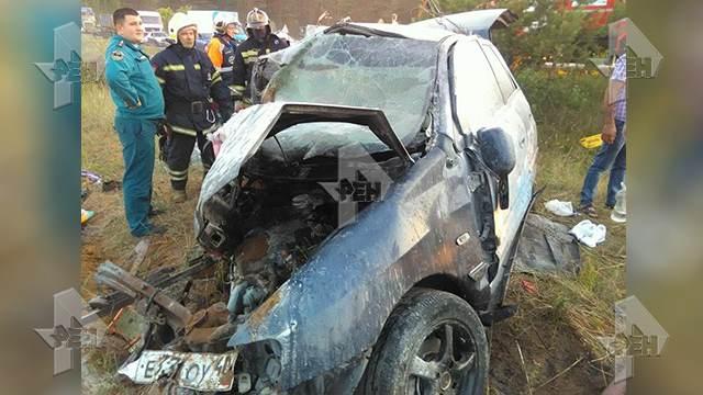 ВДТП вПодмосковье погибли три человека ичетверо пострадали