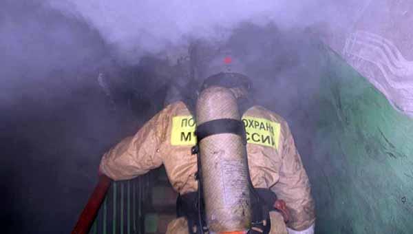 В Протвино чуть было не сгорел целый подъезд