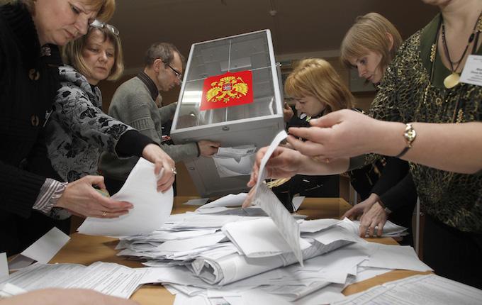Как голосовали в Васильевском и Дашковском?