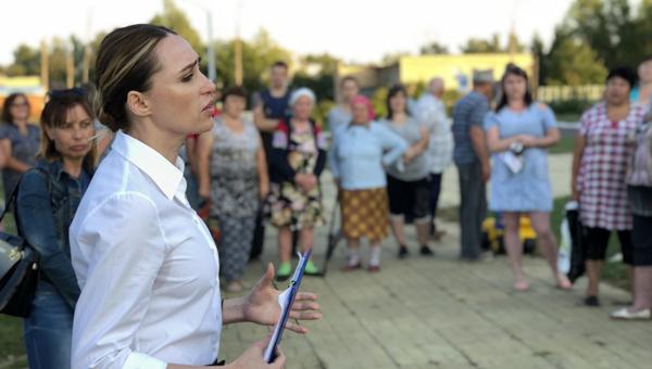 Большое Грызлово поддержало Юлию Шестун