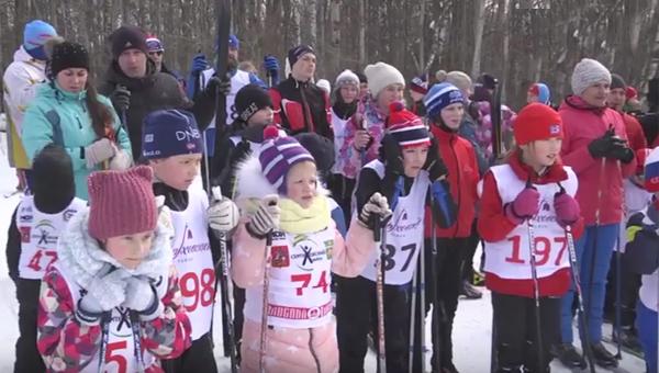 На «Лыжню района 2018» приехали спортсмены из соседних городов