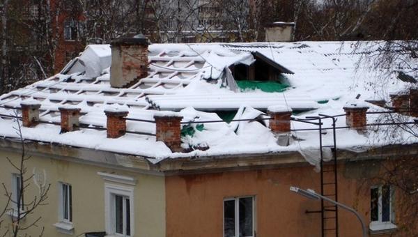 Жители Серпухова начали зимовку без крыши над головой