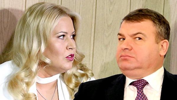 Сердюков женился на Васильевой