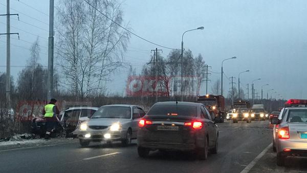 Человек погиб в ДТП под Серпуховом