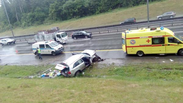 В минувшее воскресенье на трассе М2 произошло страшное ДТП
