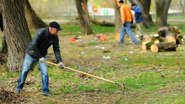 Когда выходные начинаются с лопаты?