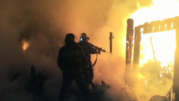 При пожаре в Серпухове погиб человек