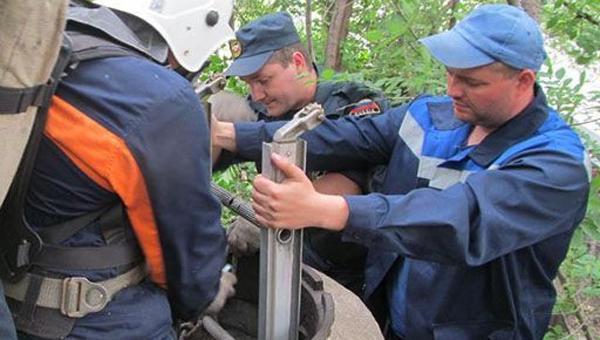 В Чеховском районе пьяный мужчина упал в колодец