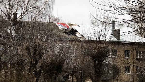 Жителей Большевика «накололи» с ремонтом крыши