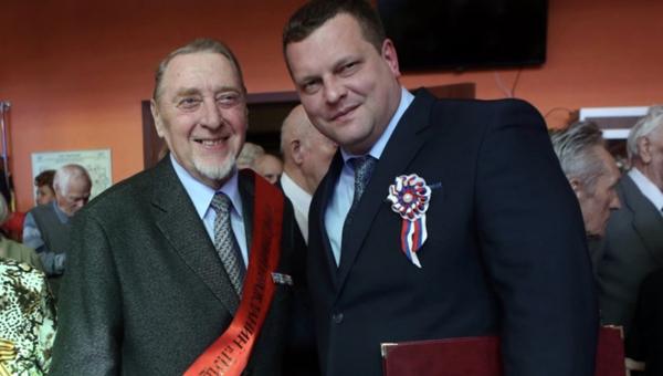 Кутышенко стал Почетным гражданином города Пущино