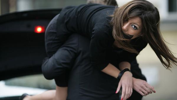 В Серпухове похитили женщину