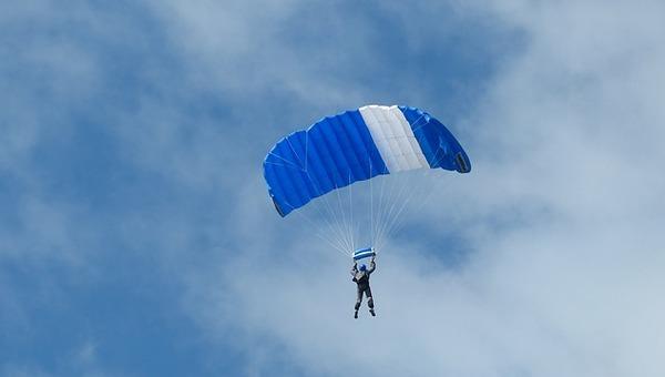 В Большом Грызлове под Серпуховом разбился парашютист
