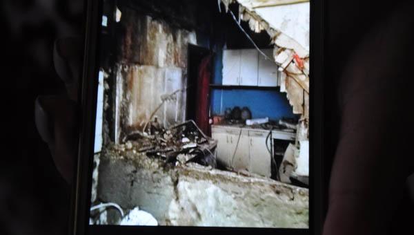 Стена квартиры в Серпухове обрушилась у малышки на глазах