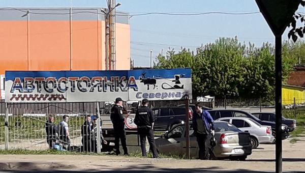 В Серпухове сносят автостоянку на Северном шоссе