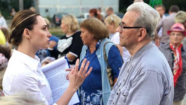 О чем говорили жители Оболенска и Нефёдова с Юлией Шестун?