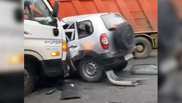 В Подмосковье в результате аварии погиб человек