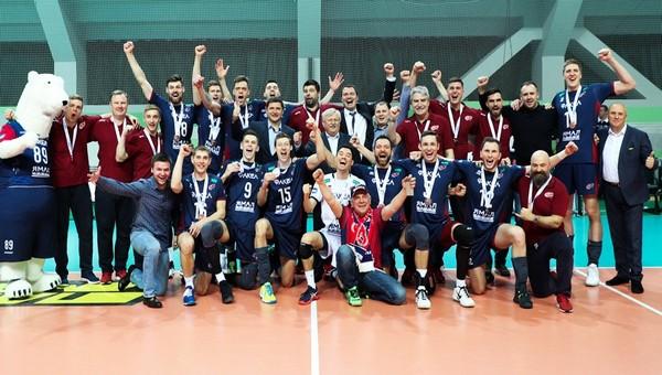 Волейбольный «Факел» - бронзовый чемпион России