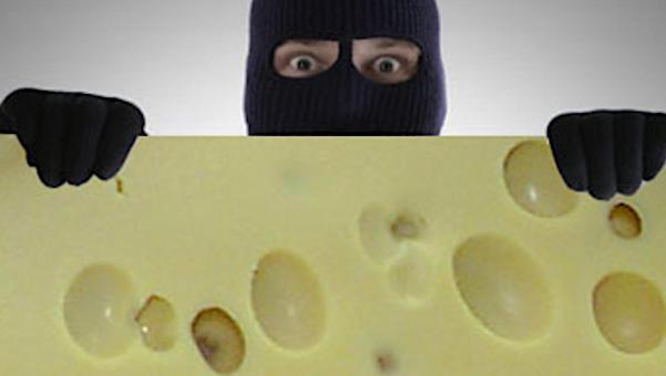 Банда из Подмосковья похитила 9 тонн сыра